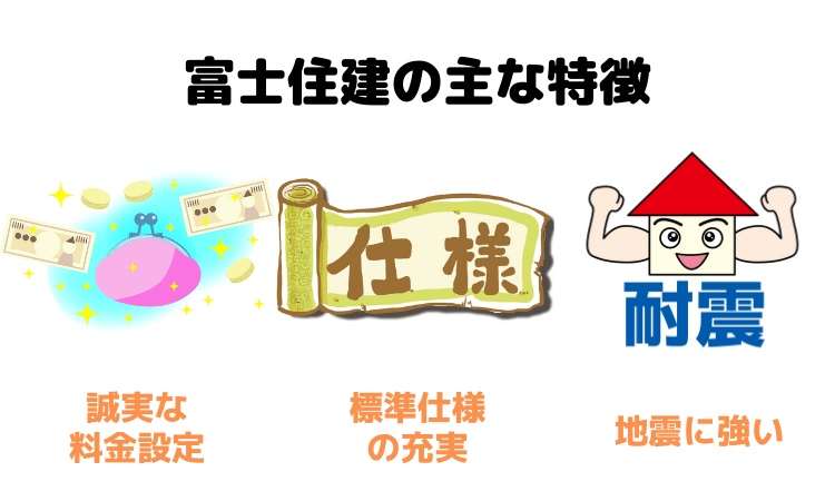富士住建の主な特徴
