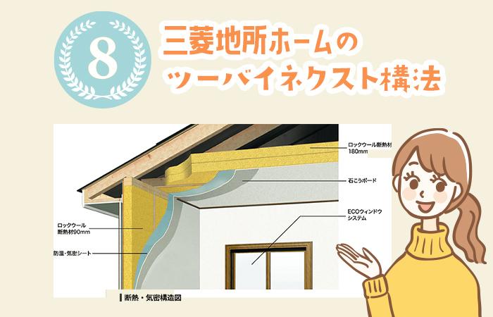 三菱地所ホームのツーバイネクスト構法